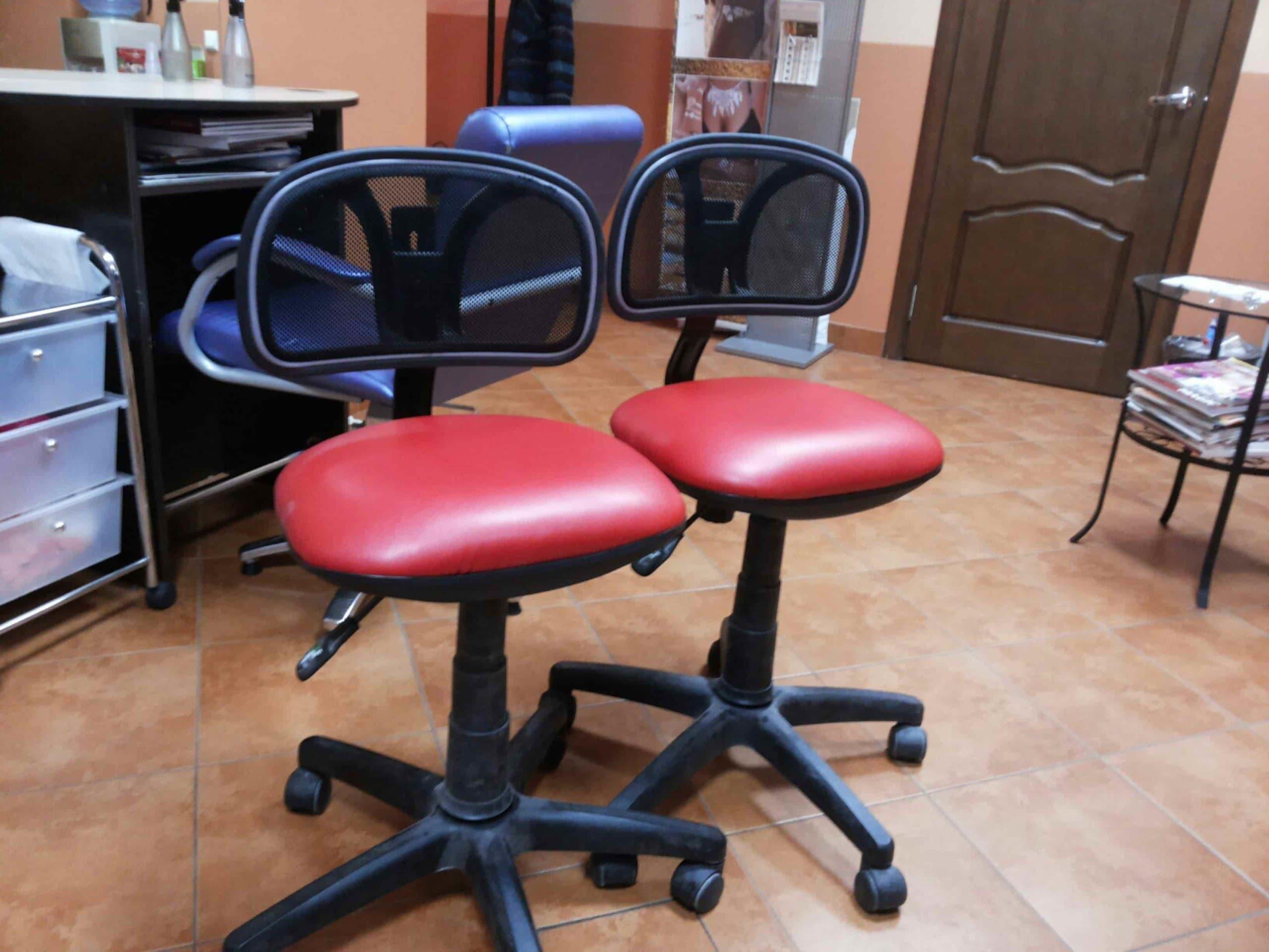 ремонт стульев для салона красоты