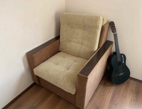 Ремонт и перетяжка кресла-кровати