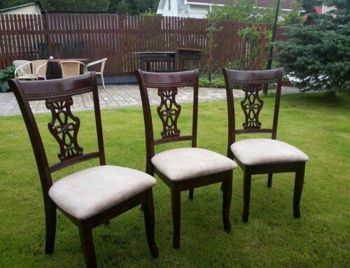 Ремонт стульев — примеры работ «Мягкий мир»